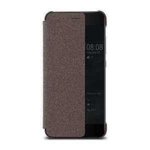 Image 5 - جراب هاتف هواوي P10 الأصلي ذو نافذة عرض ذكية من الجلد المقلب لهاتف هواوي P10 Plus جراب هاتف P10 Plus
