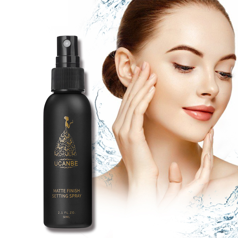 UCANBE 50ML Matte Setting Spray Oil-control Natural Long Lasting Make Up Moisturizing Replenishment Fix Foundation Spray TSLM1