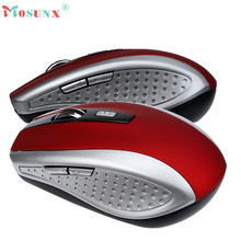 Mosunx Advanced 2017 raton inalambrico 2 4GHz Wireless Gaming Mouse USB Receiver Pro Gamer For PC