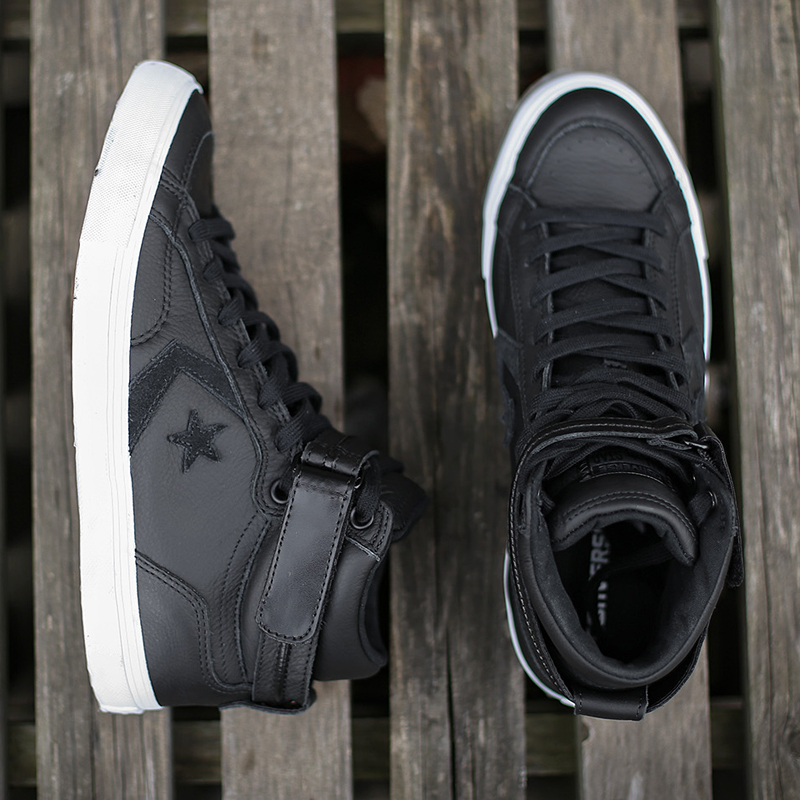 6becbc89af338b CONVERSE Magic Stick Men s Shoes High Leather Thermal Canvas Shoes Hook  Loop Increase Internal Waterproof Leisure Shoes 154177-in Skateboarding  from Sports ...