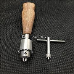 Новая высококачественная ортопедическая костная ручная дрель с деревянной ручкой ветеринарный ортопедический инструмент