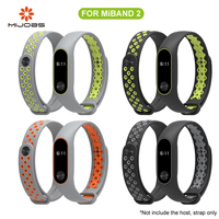 Mijobs Xiaomi Mi Band 2 Strap Sport miband 2 Strap Bracelet For xiaomi mi band 2 Wristband Belt Colorful Silicone Replacement