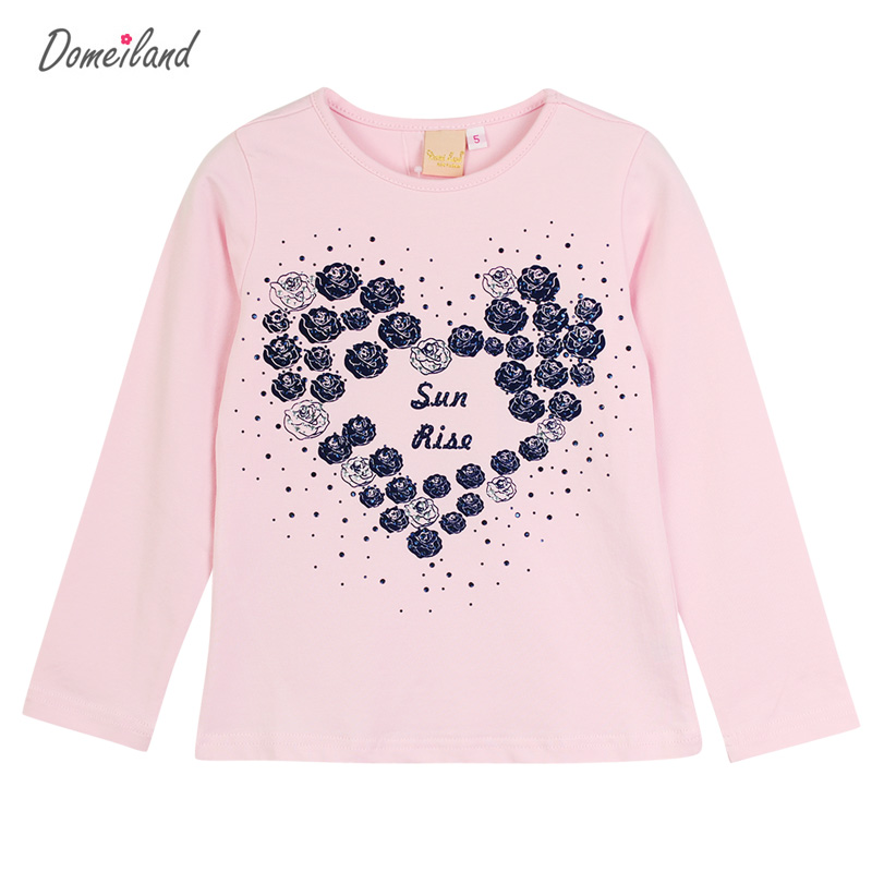 2017 New Fashion brand domeiland cute Baby Girl Clothes Longs