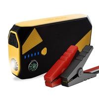 Portable 16800mAh 600A Peak Car Jump Starter Emergency Kit Power Pack Compass LED Lights Multiple Slots Battery Booster