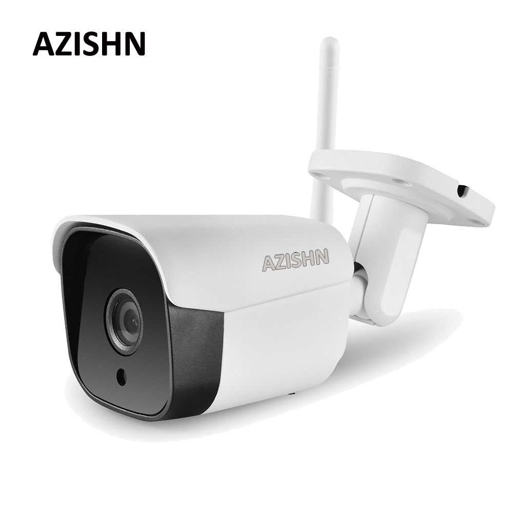 AZISHN Wifi Wired IP Camera Yoosee 1080P 960P 720P Email Alert Motion Detection 6IR Metal IP66 CCTV Camera Support 128G SD Card AZISHN Wifi Wired IP Camera Yoosee 1080P 960P 720P Email Alert Motion Detection 6IR Metal IP66 CCTV Camera Support 128G SD Card