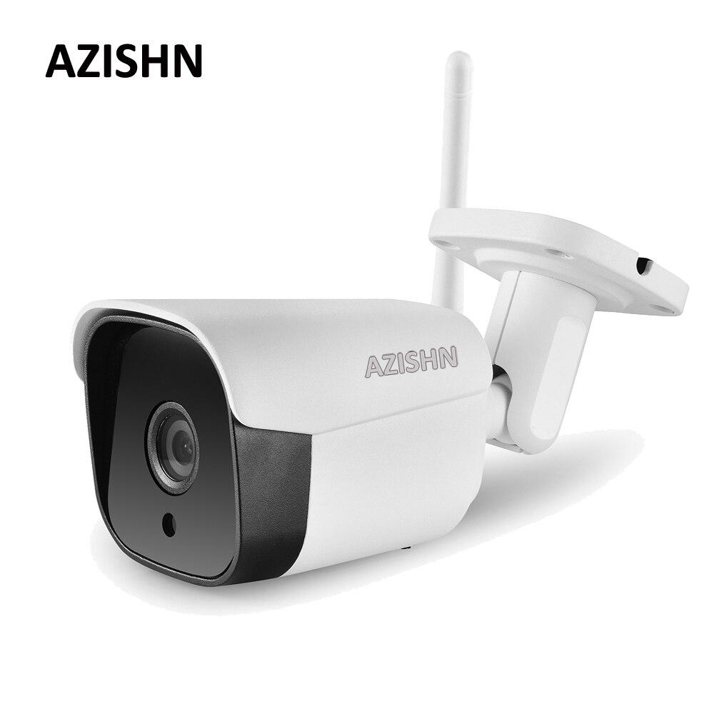 Caméra IP filaire AZISHN Wifi Yoosee 1080 P 960 P 720 P alerte par e-mail détection de mouvement 6IR métal IP66 CCTV caméra prise en charge 128G carte SD