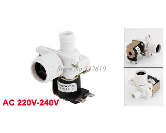 AC 220V-240V Water Inlet Solenoid Valve for Universal Washing Machine