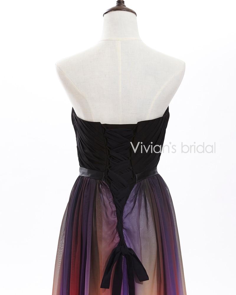 Vivian's Bridal Elegant Sweetheart A-Line Färgglada Långa - Särskilda tillfällen klänningar - Foto 4