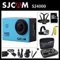 Original sjcam sj4000 esporte action camera 2.0 polegada hd 1080 p mergulho 30 M À Prova D' Água DV Extreme Sports mini Câmera SJ 4000 Cam