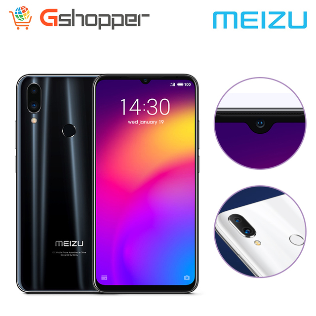 "Global Verrion Meizu Note9 teléfono 48.0MP Cámara 4GB RAM 64GB ROM 4G LTE Snapdragon 675 Octa Core 6,2 ""2244x1080 p FHD huella dactilar 3"