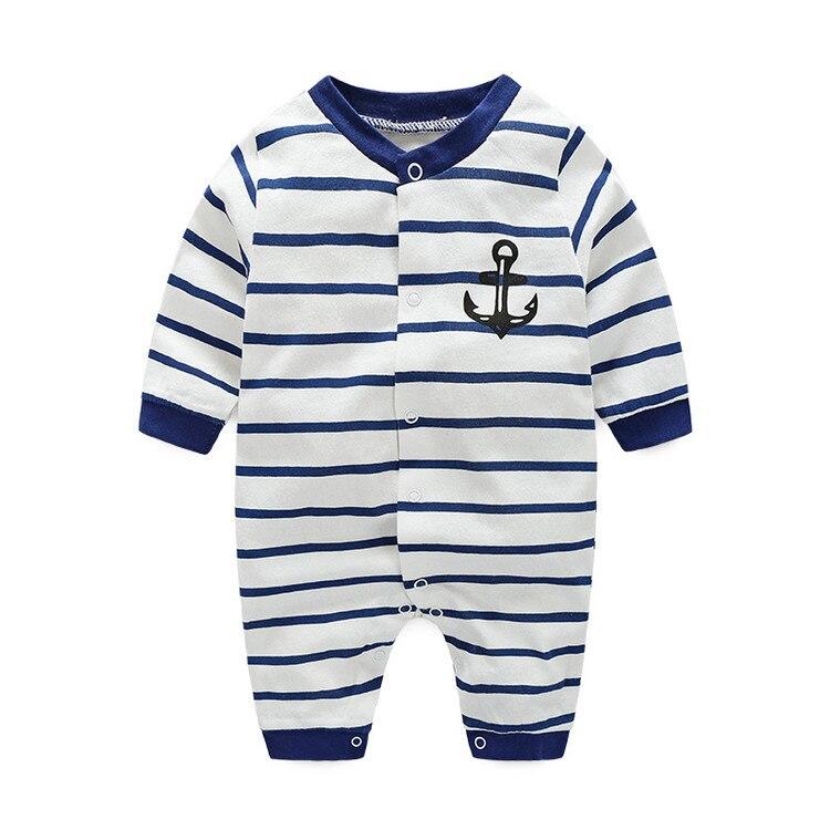 c40a026dc412e Buy boys clothes 100% cotton newborn boys rompers summer autumn ...