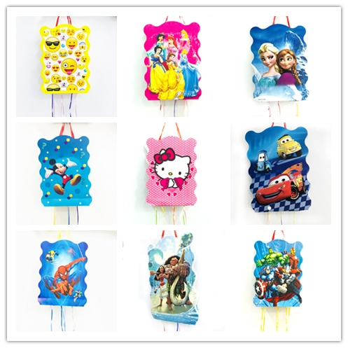 1pc/set Mickey Minnie Mouse Anna And Elsa Princess Minions Micky Mouse Avenge Trolls Pinata Kids Birthday Party Supplies1pc/set Mickey Minnie Mouse Anna And Elsa Princess Minions Micky Mouse Avenge Trolls Pinata Kids Birthday Party Supplies