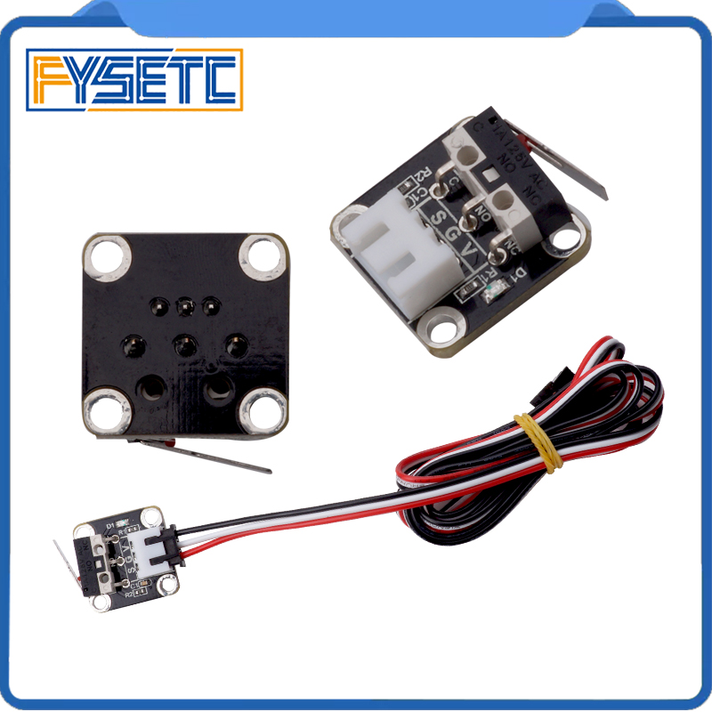 3pcs 3D Printer Kits Endstop Limit Switch Plug Control CNC For 3D Printer CR-10 CR-10S CR-S4 CR-S Tarantula & Tornado