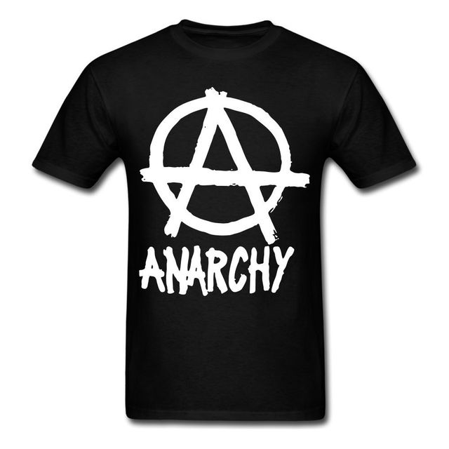 Anarchy A Circle Peace Revolution Anarchist Fight Back Graphic Shirt