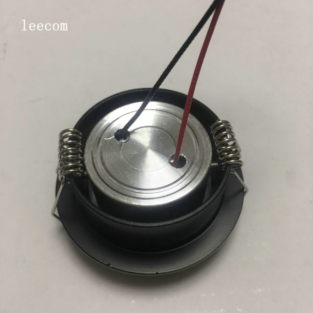 10pcs lot Mini LED Cabinet Spotlights DC12V CREE LED Recessed Cabinet Spot light Diameter 52mm Include Led Driver in Downlights from Lights Lighting