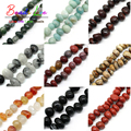Wholesale 10mm-15mm Irregular Beads 19Styles Natural Stone Beads 15.5inches DIY Bracelet Jewelry Making(F00498-F00516)