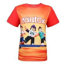 2018 Summer Boys T Shirt Roblox Stardust Ethical Cartoon T-shirt boy Rogue One Roupas Infantis Menino Kids Costume for chilren