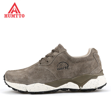 2017 High Quality Men's Sports Outdoor Leather Hiking Trekking Sneakers Shoes For Men Wearable Climbing Mountain Shoes Man
