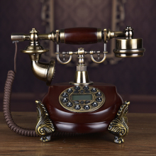 European style retro natural jade antique telephone landline gifts