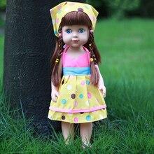 35cm Baby Doll Reborn Doll Toy gyerekeknek Appease kíséretében aranyos Vinyl Doll Plüss Játék lány Baby Ajándék Gyűjtemény