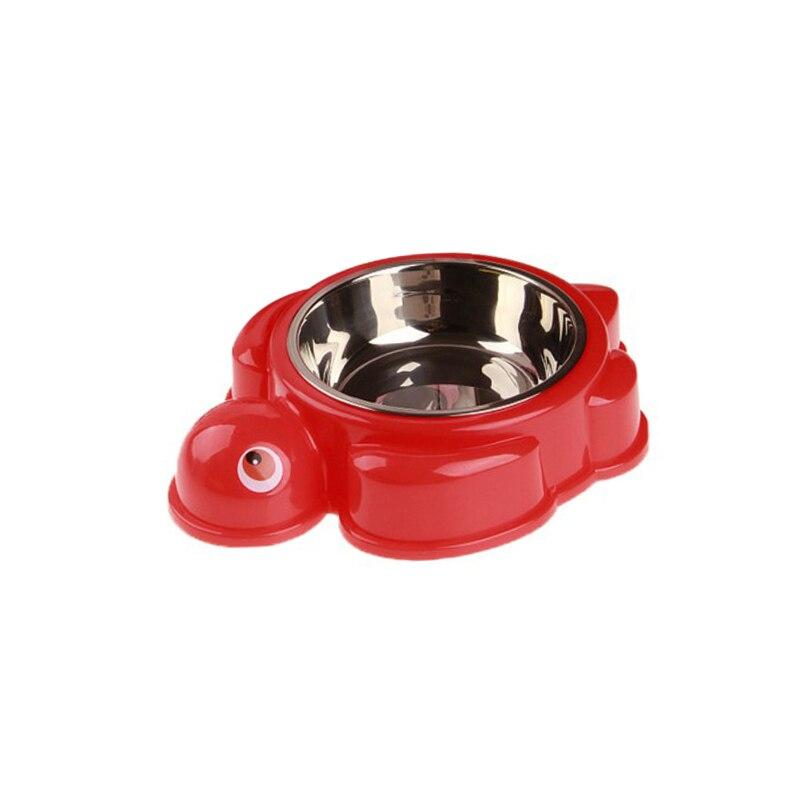 Краб форма черепаха питатель для домашних животных миски для собак еда противоскользящая одинарная пищевая чаша для воды товары для щенков