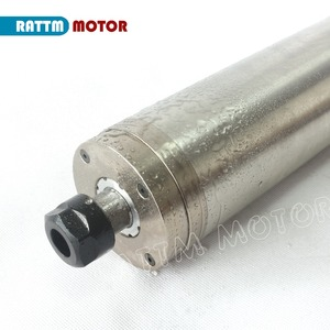 Image 3 - ¡Envío a la UE! Motor de husillo de metal tallado resistente al agua, 2,2 kW ER20 de alta calidad, husillo refrigerado por agua de 220V, MOTOR de mimbre CNC