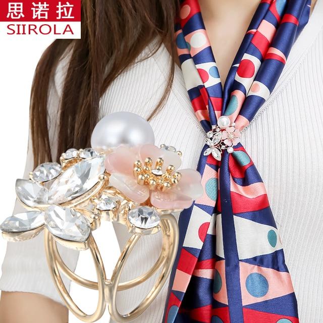 Romantic Vogue Women Brooches Jewelry Rhinestone Butterfly Imitation pearl Plast
