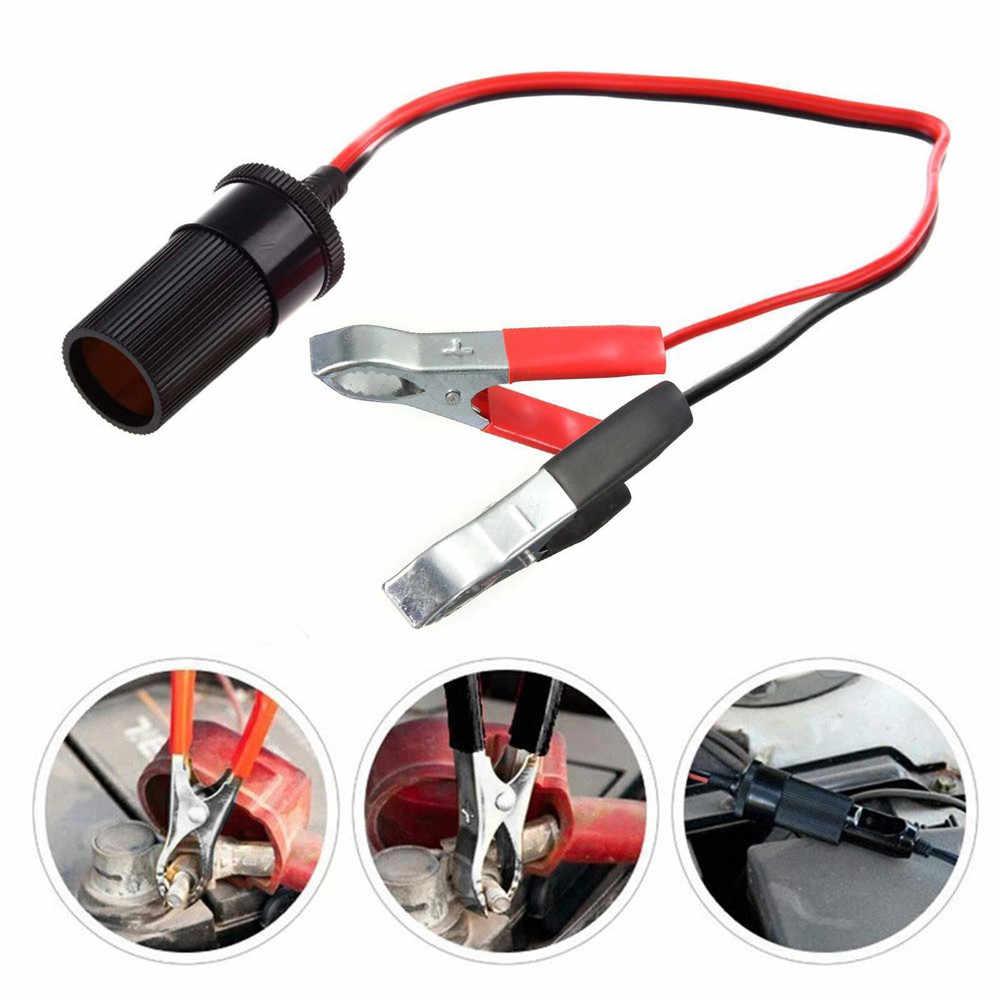 Pemantik Rokok Mobil Portable Socket Adaptor Steker Listrik Lebih Ringan Igniter Buaya Klip YG-787 12 V 19Mar20