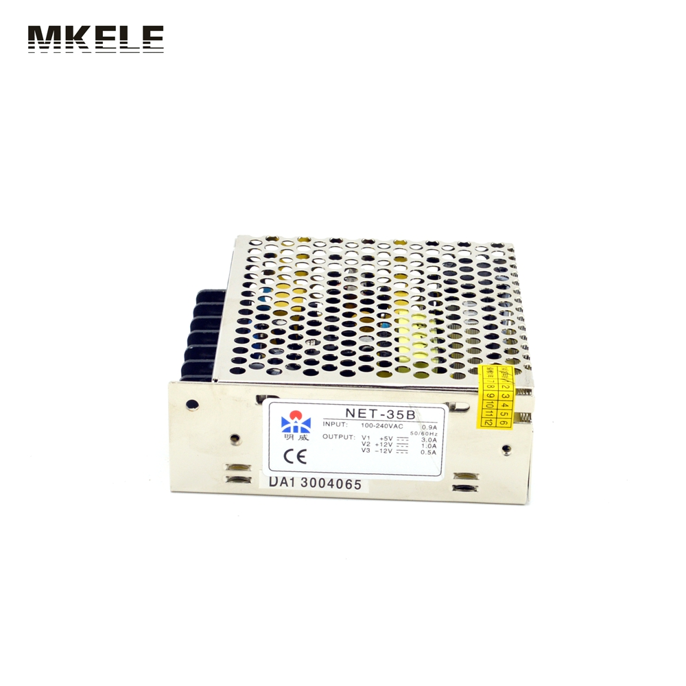 Triple output power supply 35w 5V 15V -15V power suply NET-35C high quality ac dc converter