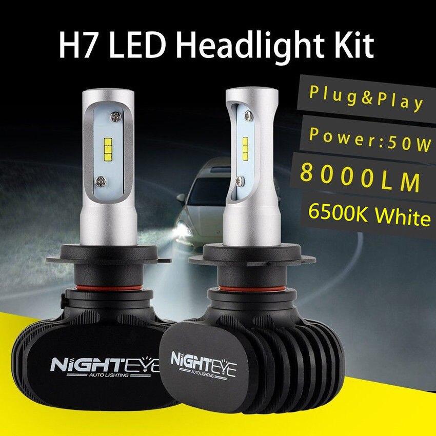 Vehemo H8/H9/H11 2 шт. светодиодный фонарь передний свет лампы супер яркие автомобильные аксессуары светодиодный фар безопасности