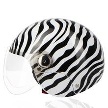 2017  new sunmmer Harley helmet Half Face Motorcycle Helmet Casco Casque Moto motobike Helmets for men and women