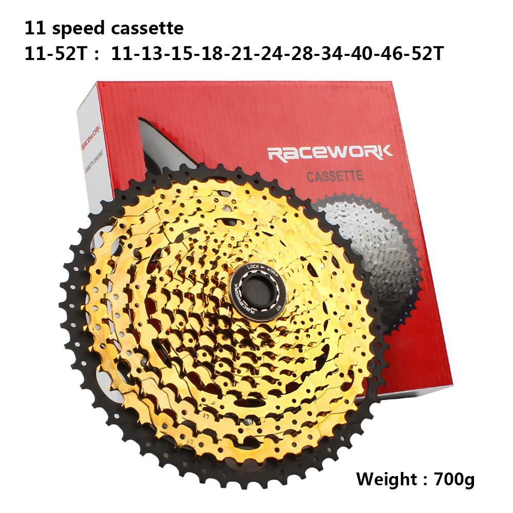 Image 5 - Mountain Bike Freewheel 10Speed/42/46/50T 11S/46/50/52T  MTB Cassette Flywheel Sprocket Compatible with Sunrace-in Bicycle Freewheel from Sports & Entertainment