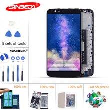 5.3Sinbeda For LG K10 LCD Display Touch Screen Replacement K410 K430 K430DS K420N 420N Display For LG K10 TV LCD $ смартфон lg k10 k410 3g 16gb white