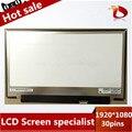 Бесплатная доставка! LP133WF2 SPA1 B133HAN02.0 B133HAN02 EDP 30 булавки 1920*1080 для Lenovo yoga2 13 Ноутбук СВЕТОДИОДНЫЙ ЭКРАН Панели