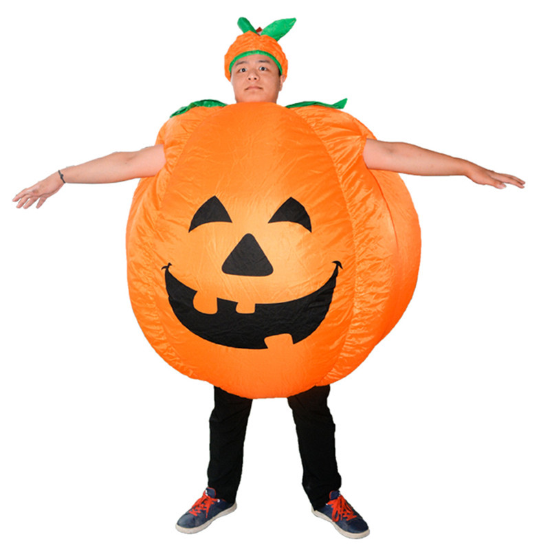 anime cosplay party supplies clothing funny pumpkin inflatable costume carnival party fancy animal clothing for adults - Large Plastic Pumpkins