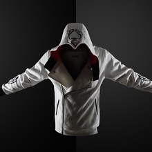 ZOGAA Gothic Hoodie streetwear 2019 ใหม่ hoodies ผู้ชาย Casual แฟชั่นสีดำ hoodie 5 สีพลัสขนาด S 4XL Assassin Men hoodies