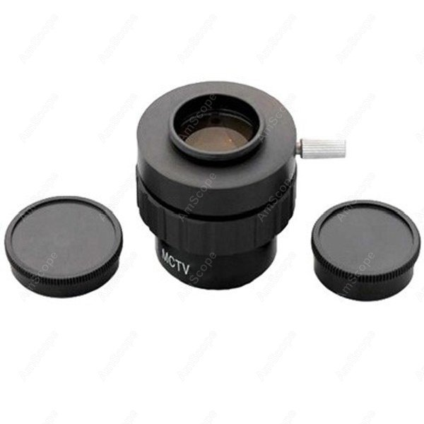 Фото Adapter-AmScope Supplies 0.3X C-mount Lens Adapter for Video Camera Microscopes SKU: AD-C20-03. Купить в РФ