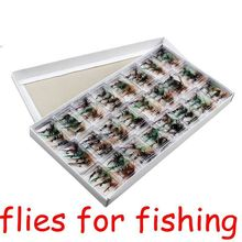 96pcs/Lot Dry Fly Fishing Lures/Hooks Single Hook Dry Fishing Bait Fake Lure Rock Carp Baitcasting Fishing Tackle gear