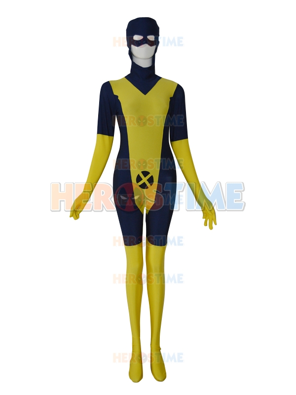 X-men Jean Grey Phoenix Marvel Comics Custom xmen lycra spandex zentai catsuit Superhero cosplay Costume Free Shipping