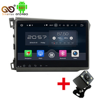 2GB RAM 10 1 Octa Core Android 6 0 Car Audio DVD Player For Honda CIVIC