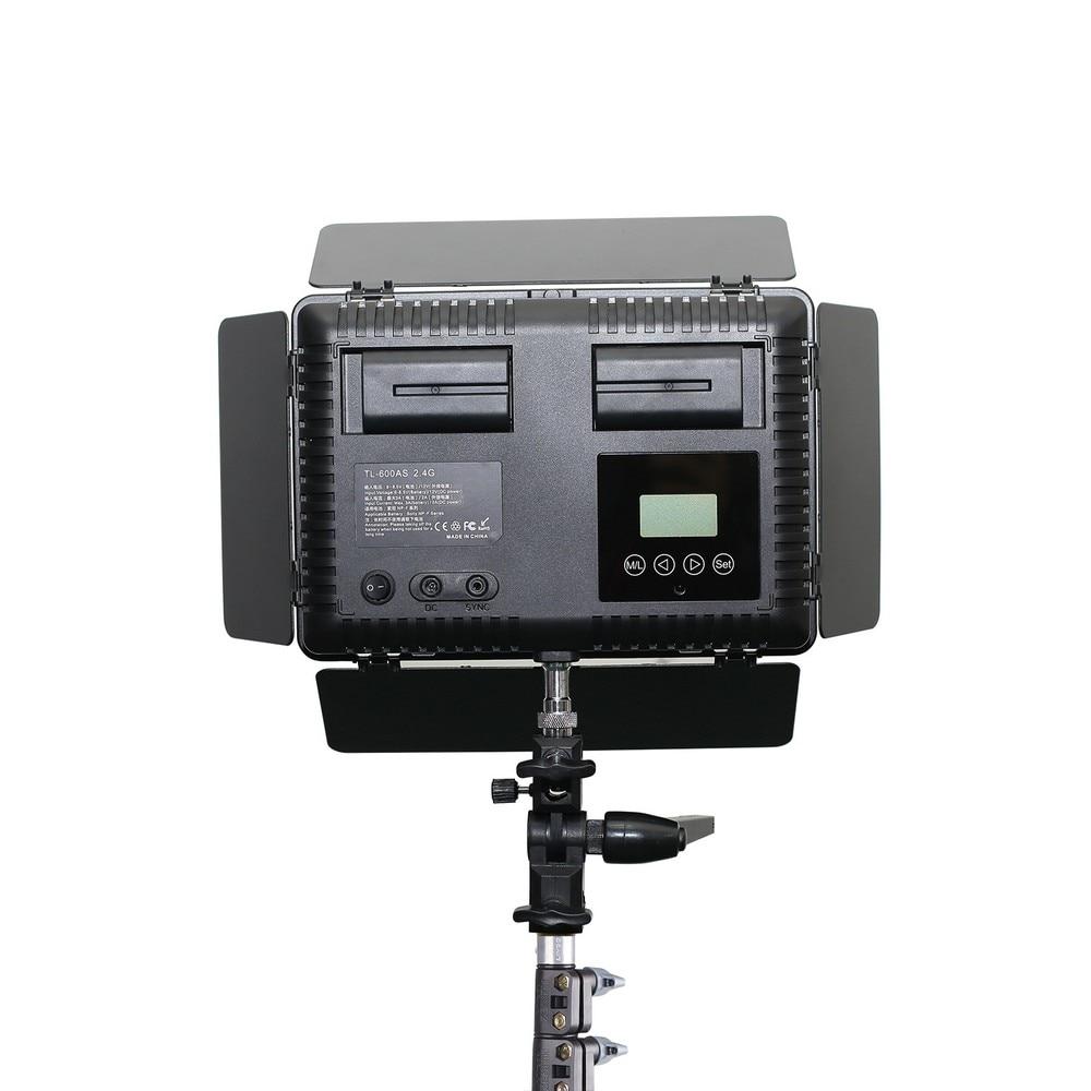Capsaver TL-600A LED-videoljuskit Justerbar bi-färgfotografisk - Kamera och foto - Foto 5