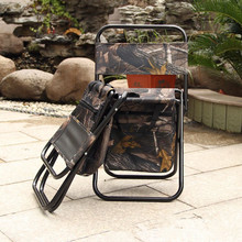 Mavllos Ultralight Foldable Multifunctional Fishing Chair Camouflage Camping Chair Aluminium Portable Folding Chair Outdoor