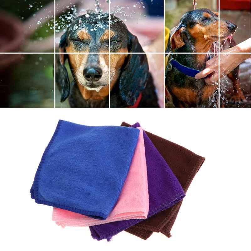 חיות מחמד מגבת רחצה מיקרופייבר רך מגבונים מהיר סופג כלב גור חתול חתלתול מוצרי אמבטיה מהיר יבש מעשי