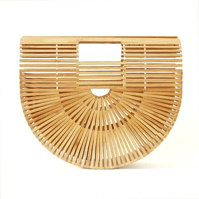 Для женщин сумки Женский Большой Путешествия отпуск Мужская тотализаторов бамбуковая сумочка для дам ручной работы Соломенная пляжная сумк