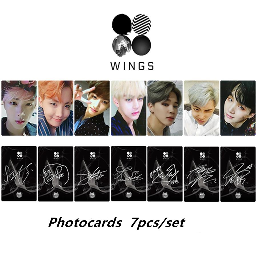 Aliexpress com : Buy Kpop BTS Wings You Never Walk Alone Paper Photo