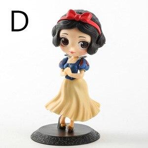 Image 3 - Disney 10 cm S versiyonu Kar Beyaz Prenses Alice Denizkızı şekil Alice in Wonderland Ariel Küçük Denizkızı PVC şekilli kalıp oyuncak