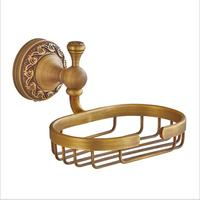 Soap Dish Bronze Soap Net Toilet Bathroom Soap Rack Holder Copper