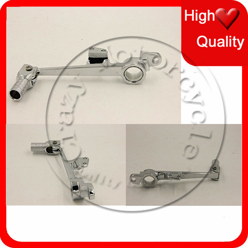 For HONDA CBR600RR 2003 2004 2005 2006 Motorcycle Chromed Brake Pedal lever CBR 600RR CBR 600 RR motorcycle fender eliminator led light tidy tail for honda cbr 600rr cbr600rr 2005 2006 cbr 1000rr cbr1000rr 2004 2005 2006 2007