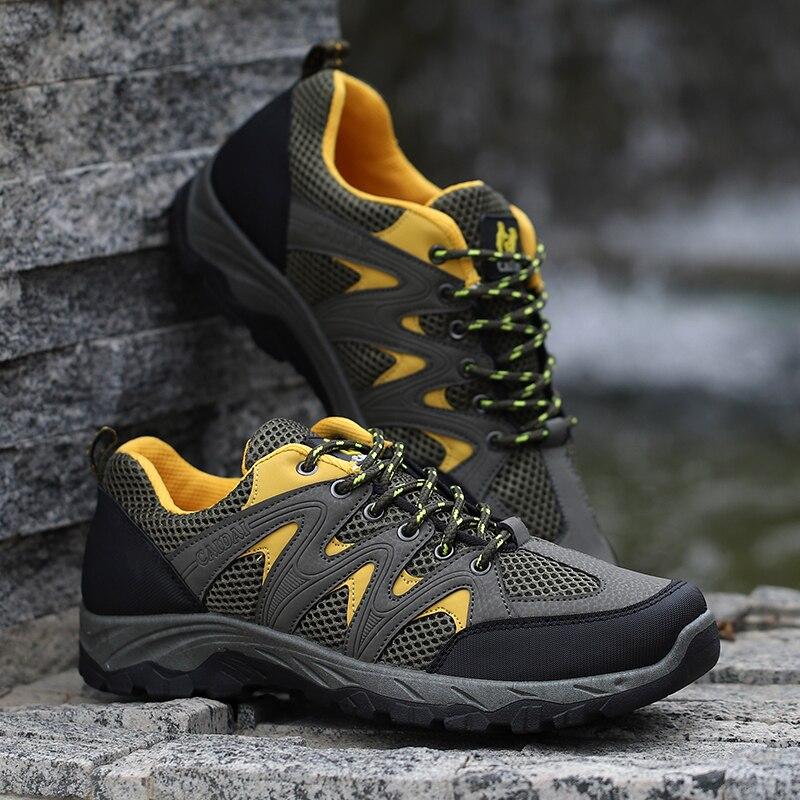 026472347a4 Pánské cestovní boty Letní Outdoor Sportovní Horolezecké boty Muž ...