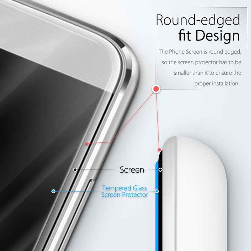الزجاج المقسى لهواوي نوفا 4E الهاتف الذكي 6.15 بوصة واقي للشاشة فيلم MAR-AL00 MAR-TL00 إصدارات غطاء رقيقة واضح حالة